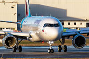 D-AVVW - Eurowings Airbus A320 aircraft