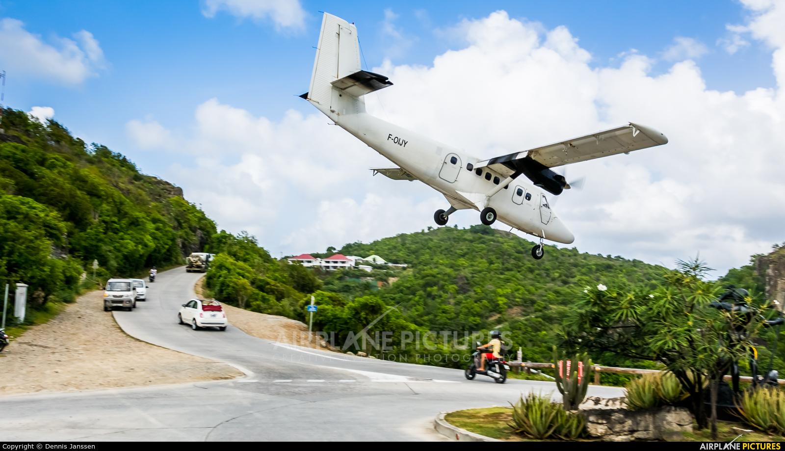 Air Antilles Express F-OIJY aircraft at Saint-Barthélemy - Gustaf III