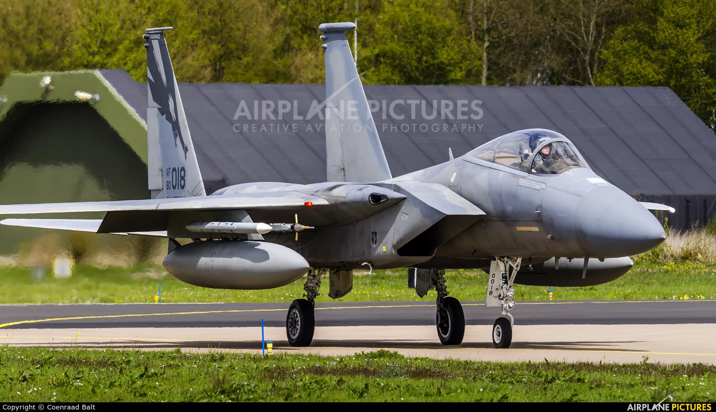 USA - Air Force 80-0018 aircraft at Leeuwarden