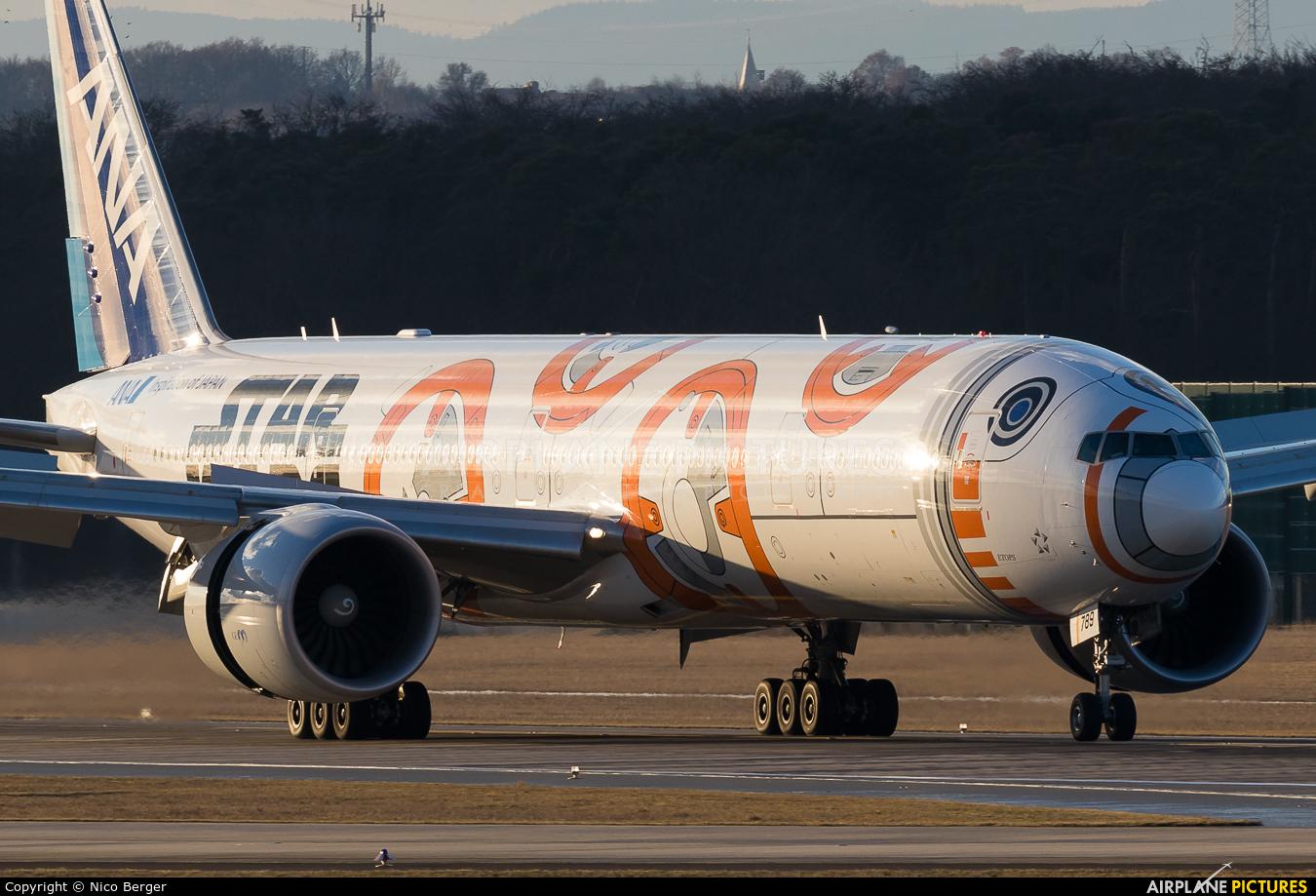ANA - All Nippon Airways JA789A aircraft at Frankfurt