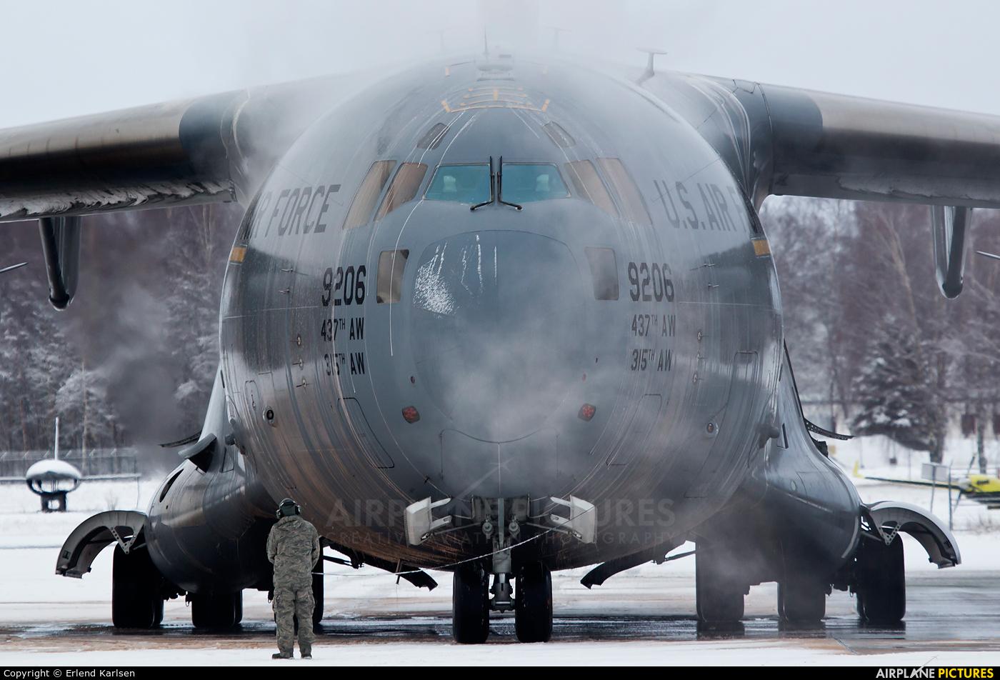 USA - Air Force 09-9206 aircraft at Trondheim - Vaernes