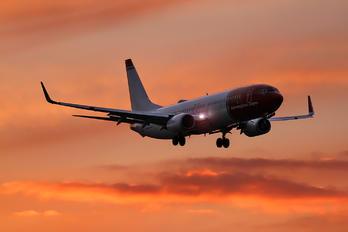 LN-DYX - Norwegian Air Shuttle Boeing 737-800