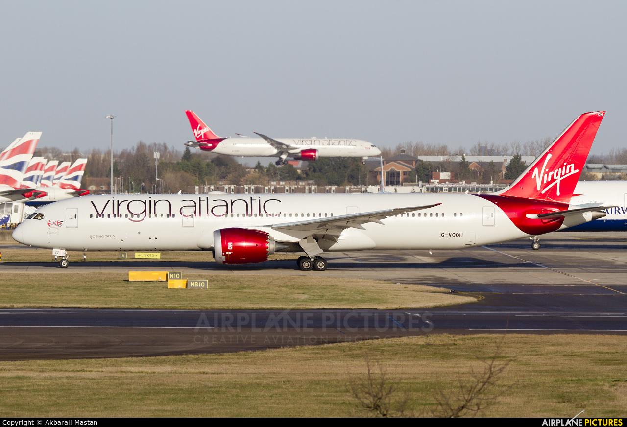 Virgin Atlantic G-VOOH aircraft at London - Heathrow