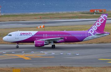 JA818P - Peach Aviation Airbus A320