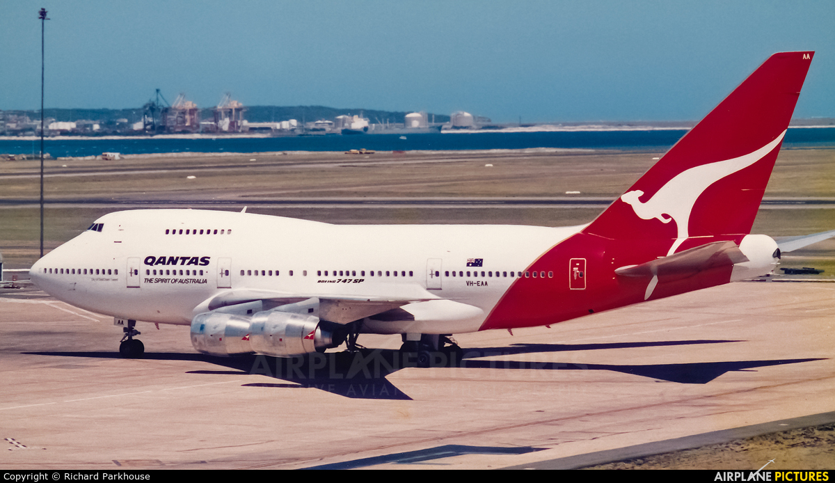QANTAS VH-EAA aircraft at Sydney - Kingsford Smith Intl, NSW