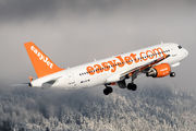 G-EZWC - easyJet Airbus A320 aircraft