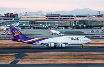 HS-TGP - Thai Airways Boeing 747-400