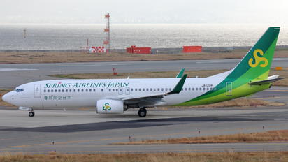 JA02GR - Spring Airlines Japan Boeing 737-800