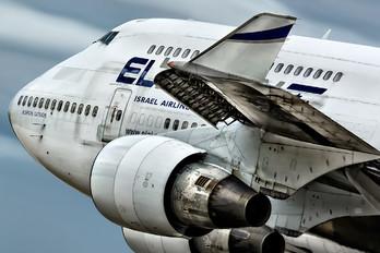 4X-ELE - El Al Israel Airlines Boeing 747-400