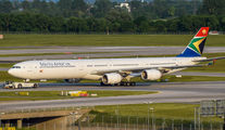 ZS-SNE - South African Airways Airbus A340-600 aircraft