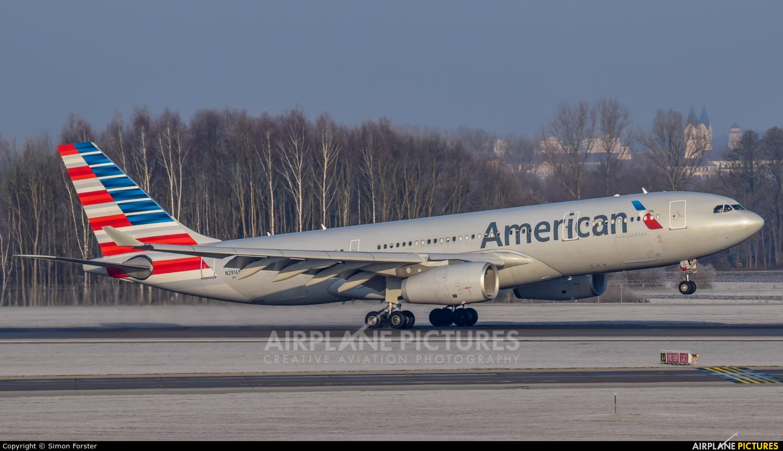 American Airlines N291AY aircraft at Munich
