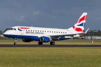 G-LCYI - British Airways - City Flyer Embraer ERJ-170 (170-100)