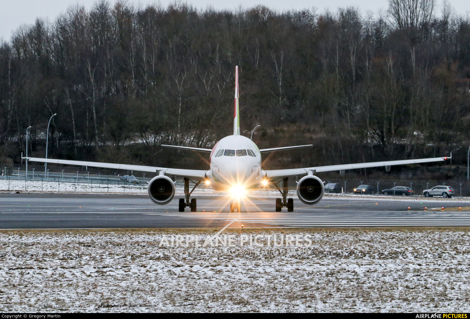 TAP Portugal CS-TTS aircraft at Luxembourg - Findel