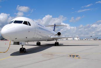 D-AFKE - Contact Air - Lufthansa Regional Fokker 100