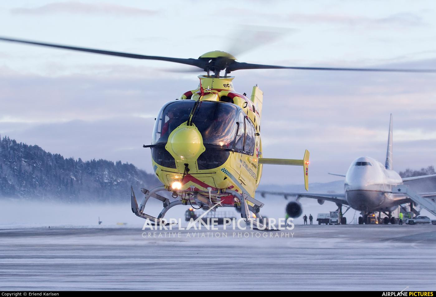 Norsk Luftambulanse AS LN-OOE aircraft at Trondheim - Vaernes