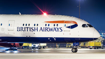 G-ZBKB - British Airways Boeing 787-9 Dreamliner