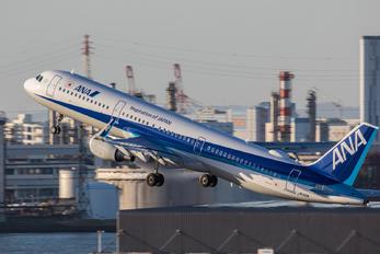 JA112A - ANA - All Nippon Airways Airbus A321