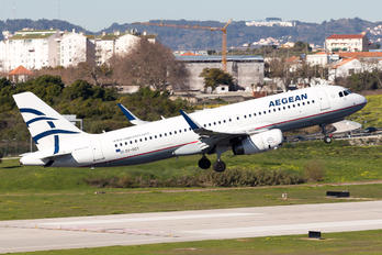 SX-DGY - Aegean Airlines Airbus A320