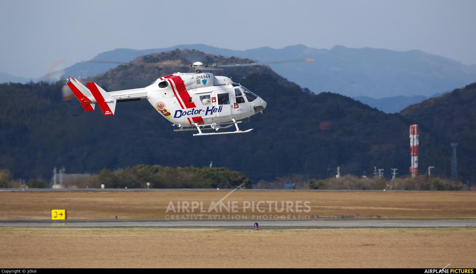 Shikoku Air Service Co JA6844 aircraft at Kōchi