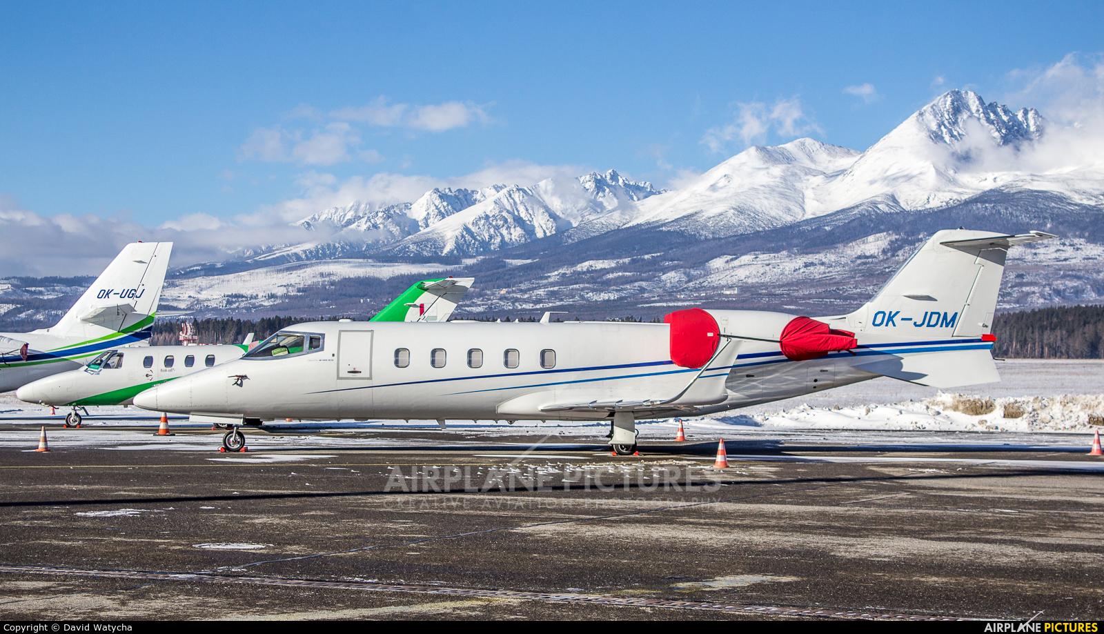 ABS Jets OK-JDM aircraft at Poprad - Tatry