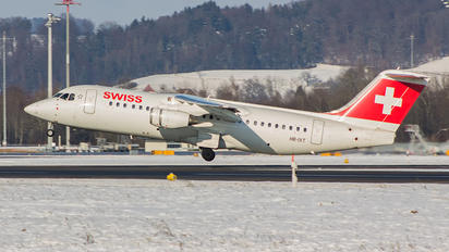 HB-IXT - Swiss British Aerospace BAe 146-300/Avro RJ100
