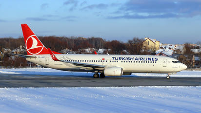 TC-JHN - Turkish Airlines Boeing 737-800