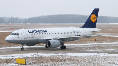 D-AILA - Lufthansa Airbus A319