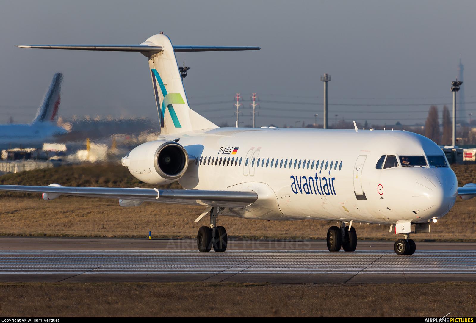 AvantiAir D-AOLG aircraft at Paris - Orly