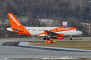 G-EZFG - easyJet Airbus A319 aircraft