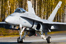 Finland - Air Force McDonnell Douglas F-18C Hornet HN-448 at Off Airport - Lusi Highway Strip airport