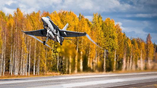 #1 Finland - Air Force McDonnell Douglas F-18C Hornet HN-439 taken by Aleksi Hamalainen
