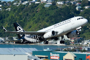 ZK-OXI - Air New Zealand Airbus A320