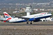G-GATJ - British Airways Airbus A320 aircraft