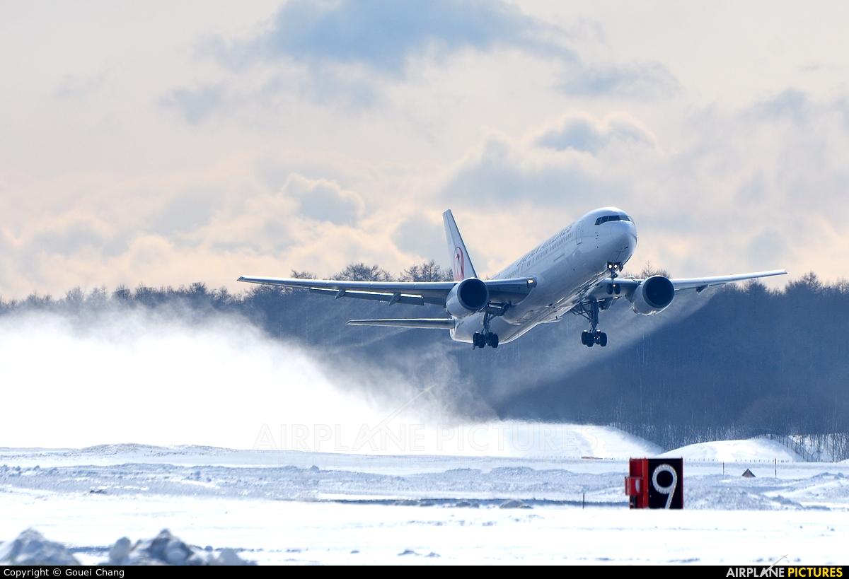 JAL - Japan Airlines JA603J aircraft at New Chitose