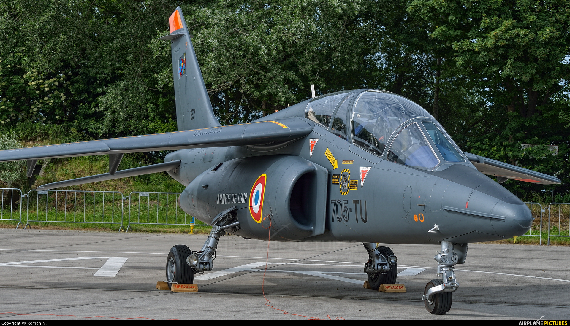 France - Air Force E7 aircraft at Leeuwarden