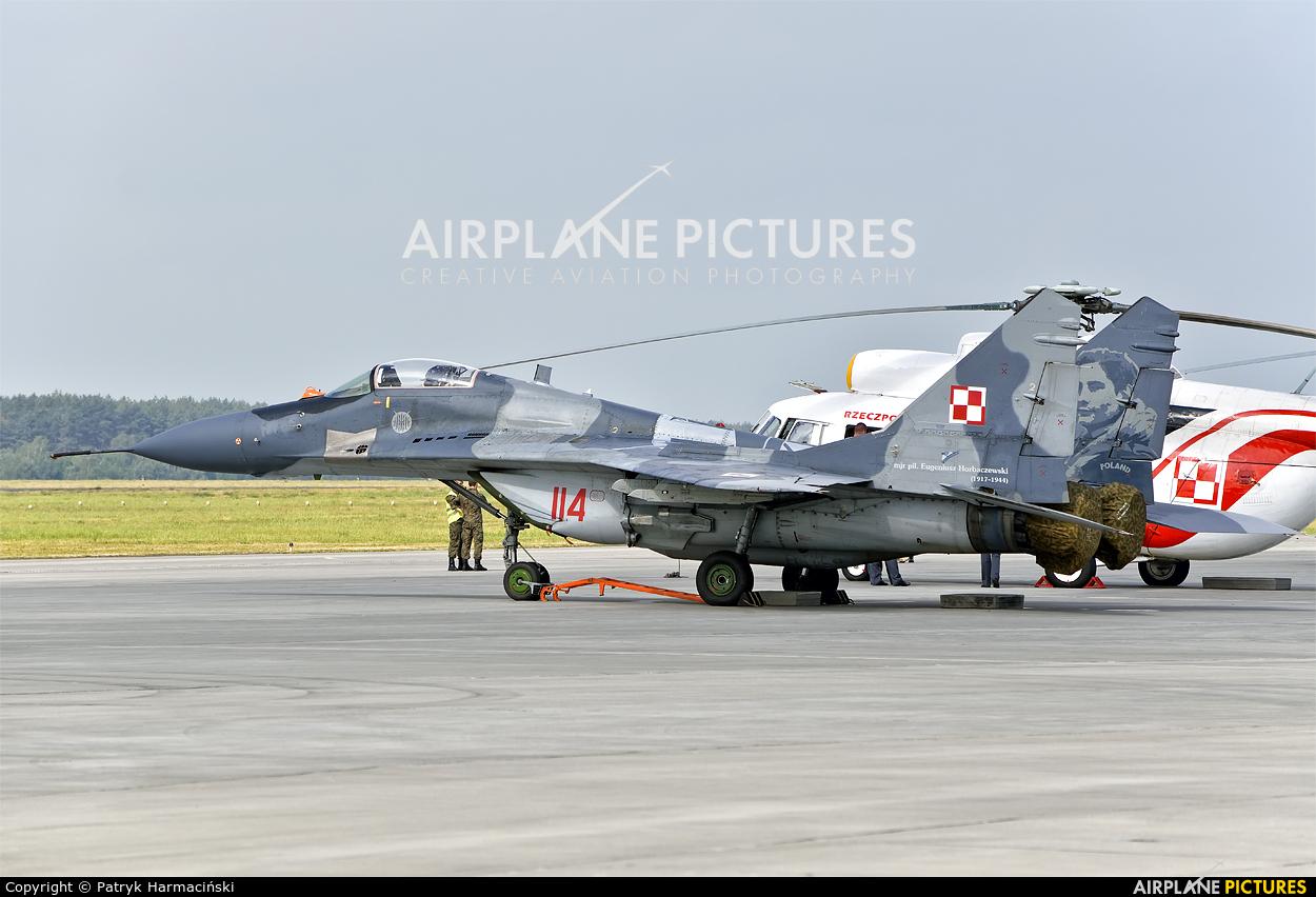 Poland - Air Force 114 aircraft at Powidz