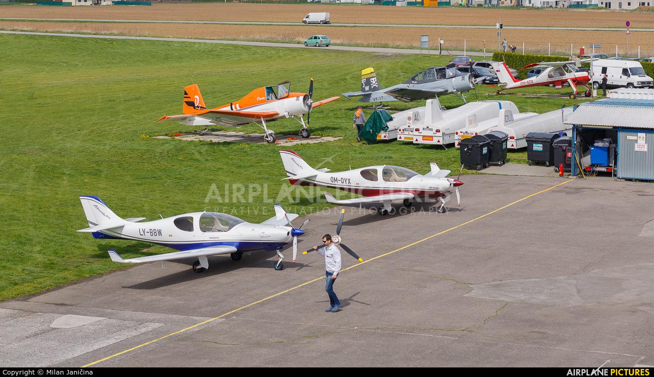 Private LY-BBW aircraft at Prievidza