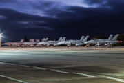- - Finland - Air Force - Airport Overview - Apron aircraft