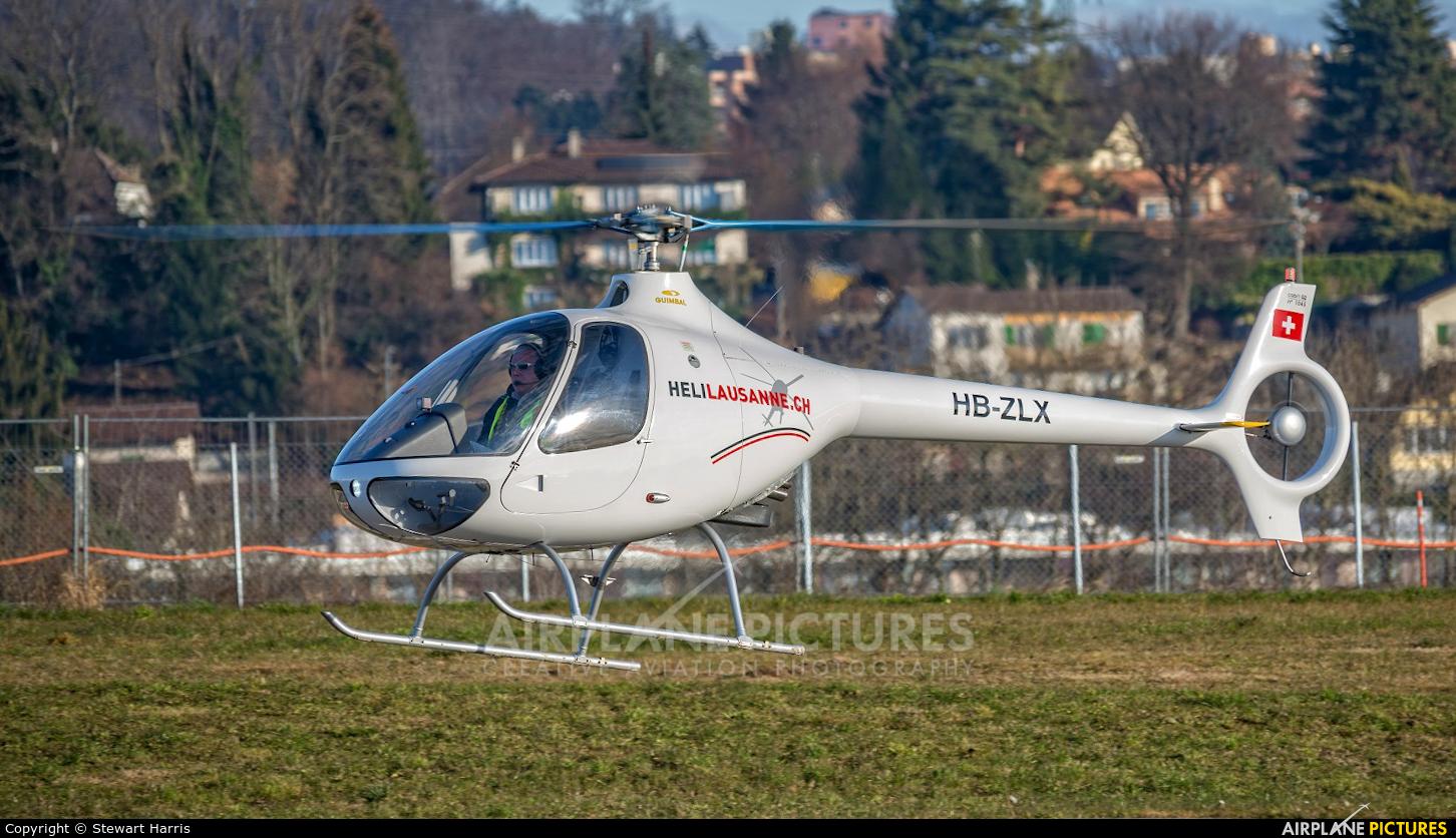 Heli-Lausanne HB-ZLX aircraft at Lausanne - La Blécherette