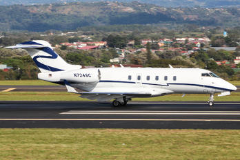 N724SC - Private Bombardier BD-100 Challenger 300 series