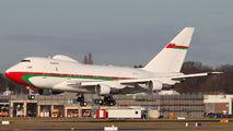 A4O-SO - Oman - Royal Flight Boeing 747SP aircraft