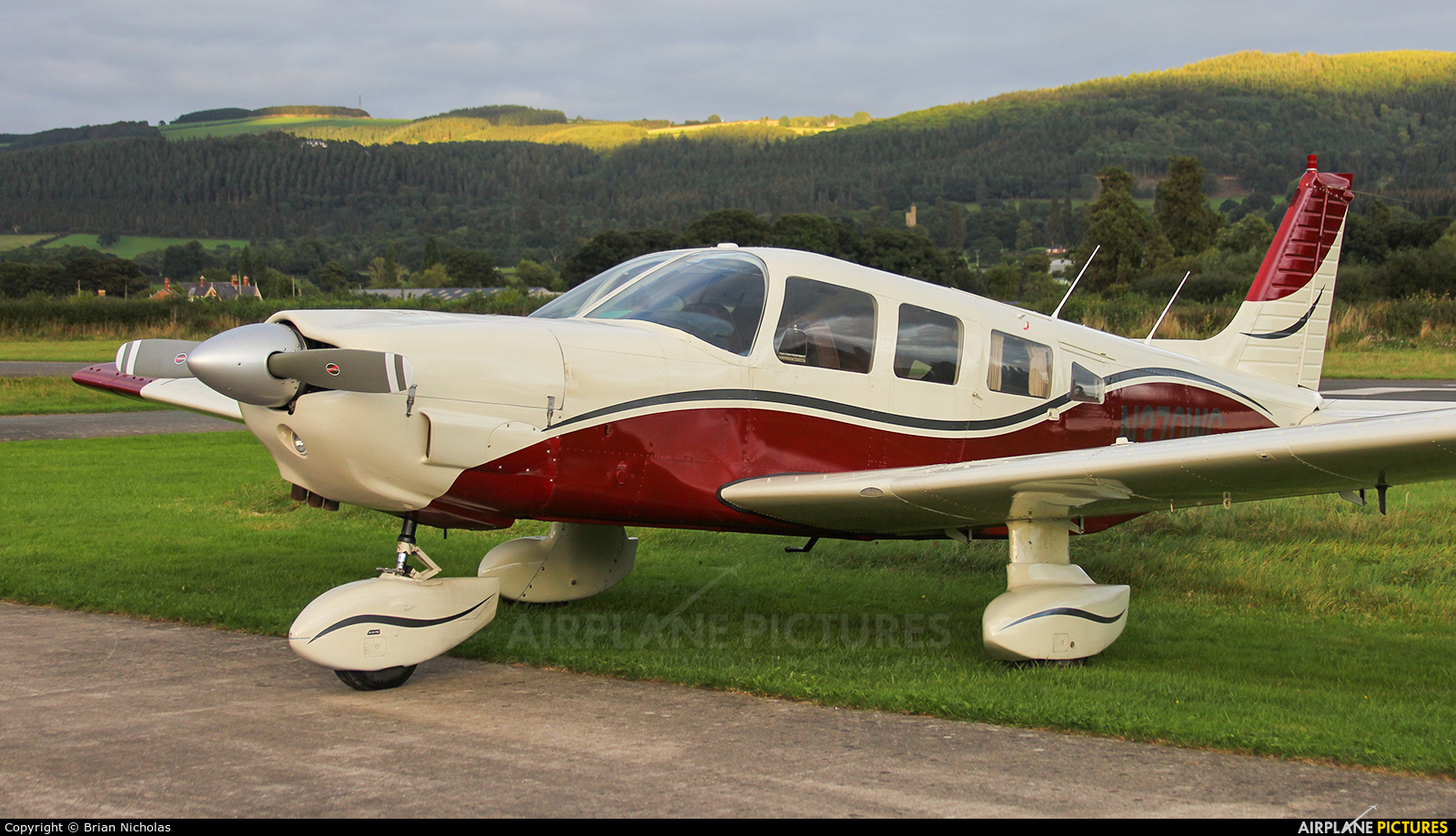 Private N370WC aircraft at Welshpool