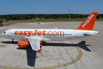 G-EZUW - easyJet Airbus A320
