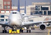 D-ABYR - Lufthansa Boeing 747-8 aircraft