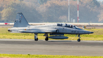 AE.9-001 - Spain - Air Force CASA-Northrop  SF-5B(M) Freedom Fighter