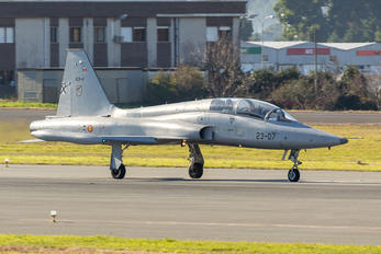 AE.9-014 - Spain - Air Force CASA-Northrop  SF-5B(M) Freedom Fighter
