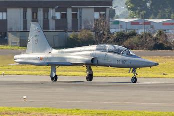 AE.9-014 - Spain - Air Force CASA-Northrop  SF-5B(M) Freedom Fighter