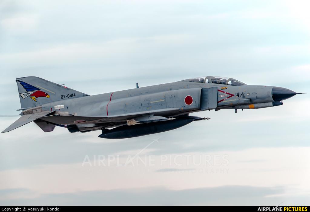 Japan - Air Self Defence Force 87-8414 aircraft at Ibaraki - Hyakuri AB