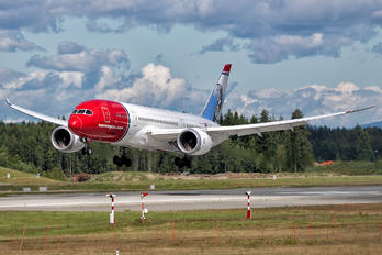 LN-LNH - Norwegian Long Haul Boeing 787-8 Dreamliner