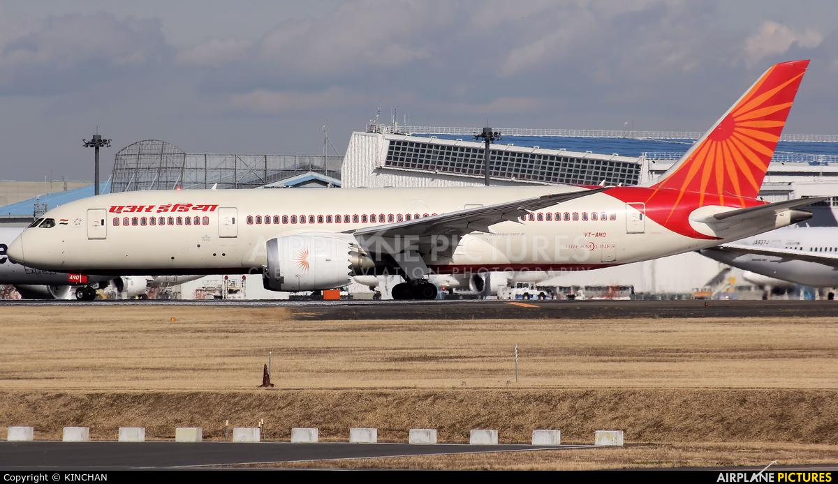 Air India VT-ANO aircraft at Tokyo - Narita Intl